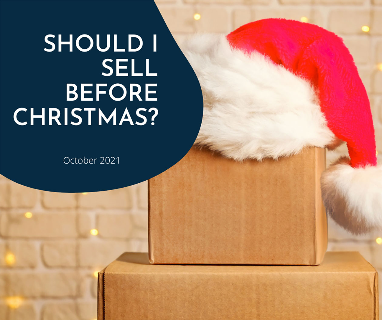 Want to sell Before Christmas? It'll take organisation and focus but there's still time.